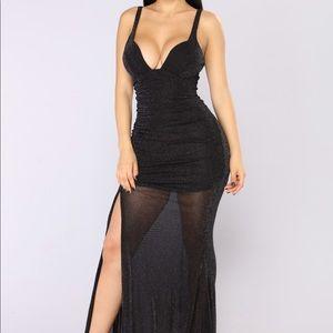 Fashion Nova Pretend You're Mind Ruched Dress
